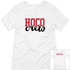 Hoco Crew Custom Name Tee