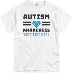 Custom Autism Awareness Tee