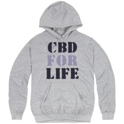CBD For Life Cannabis Hoodie