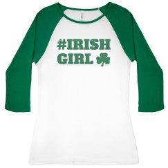 Irish Girl St Patrick's Day