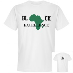 Black Excellence Tee-Green