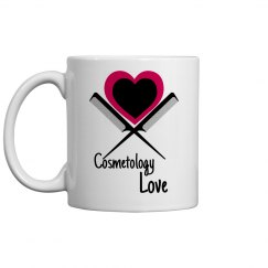 Cosmetology Love - Coffee Mug