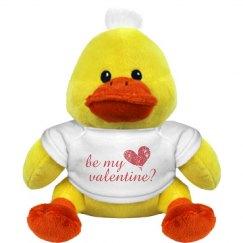 Be My Valentine Duckie