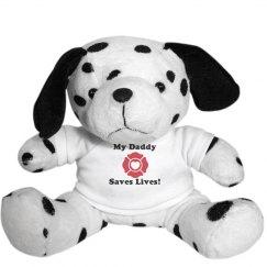 My Daddy Saves Lives Dog