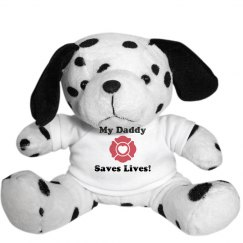 My Daddy Saves Lives Dog