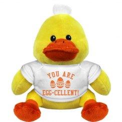 Easter Egg-Cellent Duck Gift