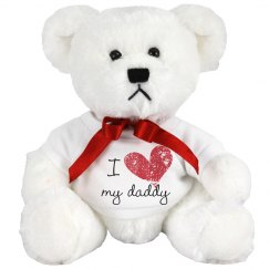 I Heart My Daddy Design