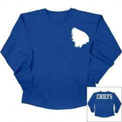 Lakeview chiefs long sleeve shirt.
