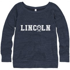 WOMEN'S: Lincoln Paw Slouch Sweatshirt