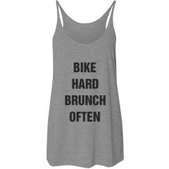 BIKE HARD BRUNCH OFTEN