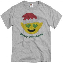 Elf Santa Emoji  grey