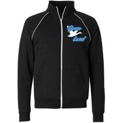 Goose_Land turtle neck jacket