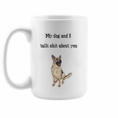 German Shepard Dog Mom Mug