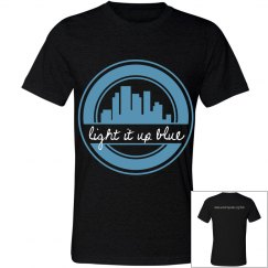 Light It Up Blue T-Shirt