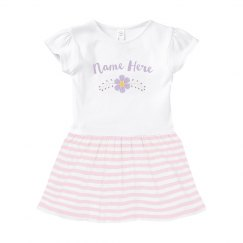 Baby Name Flower Dress