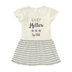 Custom Baby Family Fame Stars Dress