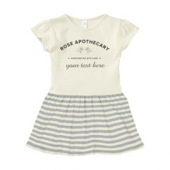 Custom Rose Apothecary Baby Dress