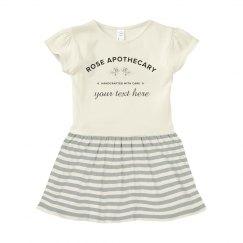 Custom Rose Apothecary Baby Dress