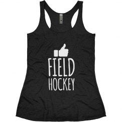 Field Hockey Thumbs Up