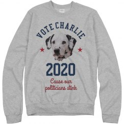 Photo Upload Your Dog Political Design