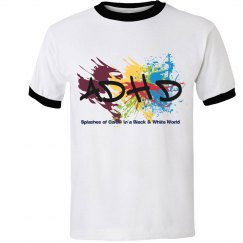 Men's Splash of Color tee