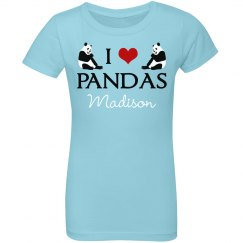 I Love Pandas Cute