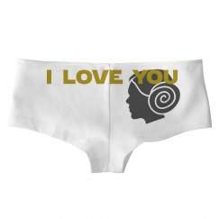*Galactic Love* Matching i love you i know underwear