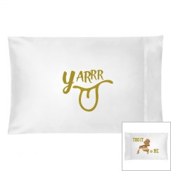 Yarrr pillow case