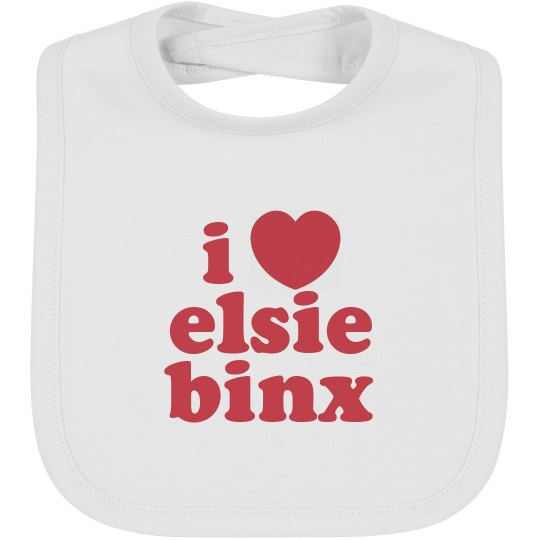 EBX Baby Bib - Red