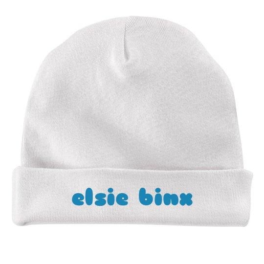 EBX Baby Hat - Aqua