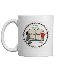 Literary Lushes Christmas Edition Mug