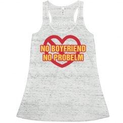 No Boyfriend Cross Heart