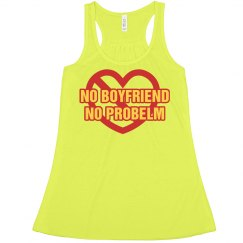 No Boyfriend Cross Heart
