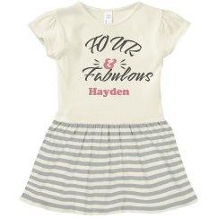 Fourth Birthday Custom Outfit