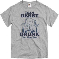 Team Derby Drunk Guy