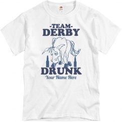 Team Derby Drunk Guy