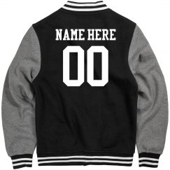 Personalized Varsity Jacket