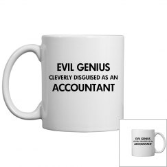 Cleverly disguised as an accountant