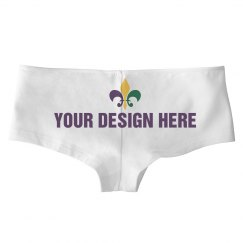 Personalized Mardi Gras Undies