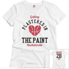 Basketball Bachelorette Party Plastered Bride