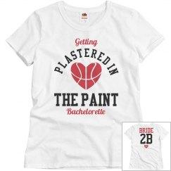 Basketball Bachelorette Party Plastered Bride