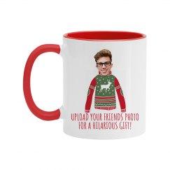 Custom Photo Funny Holiday Gift