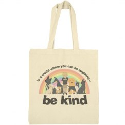 unisex triblend be kind new letterin