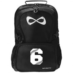 Softball Team Number Nfinity Backpack