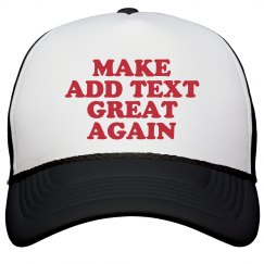 Customize a MAGA Cap