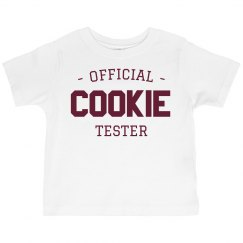 Official Cookie Tester Ruffle Tee