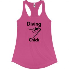 Diving Chick