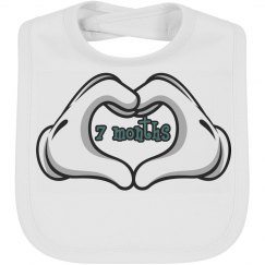 Baby Bib by Month 7 mth