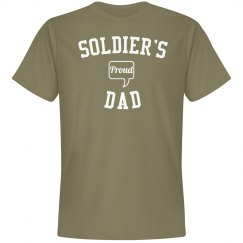 Proud soldier's dad