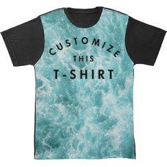 Customize An All Over Print Design